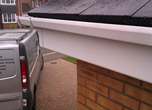 after guttering clean