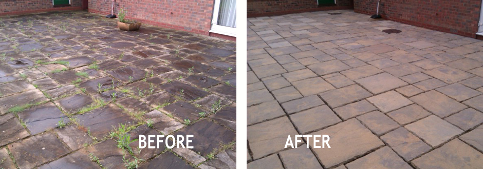 Paving And Patio Cleaning Northampton From Sterling Cleaning - Patio repairs